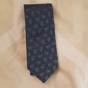 Charles Tyrwhitt mens silk tie - blue and green